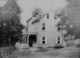Abraham Rittenhouse Home, ca. 1900 Photo: Thomas H. Shoemaker 1851-1936