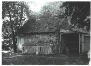 Bake House, ca. 1900 Photo: Thomas H. Shoemaker 1851-1936